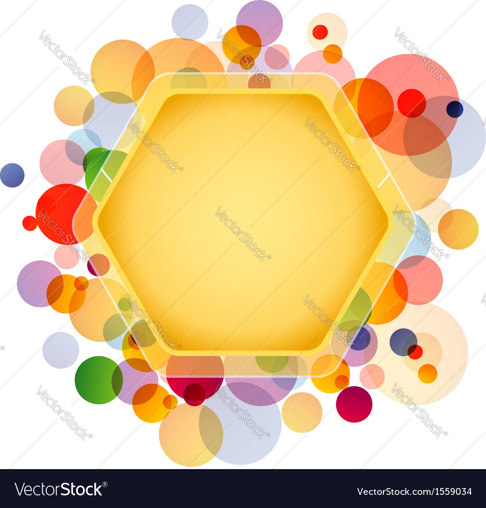 Honeycomb element vector | Price: 1 Credit (USD $1)