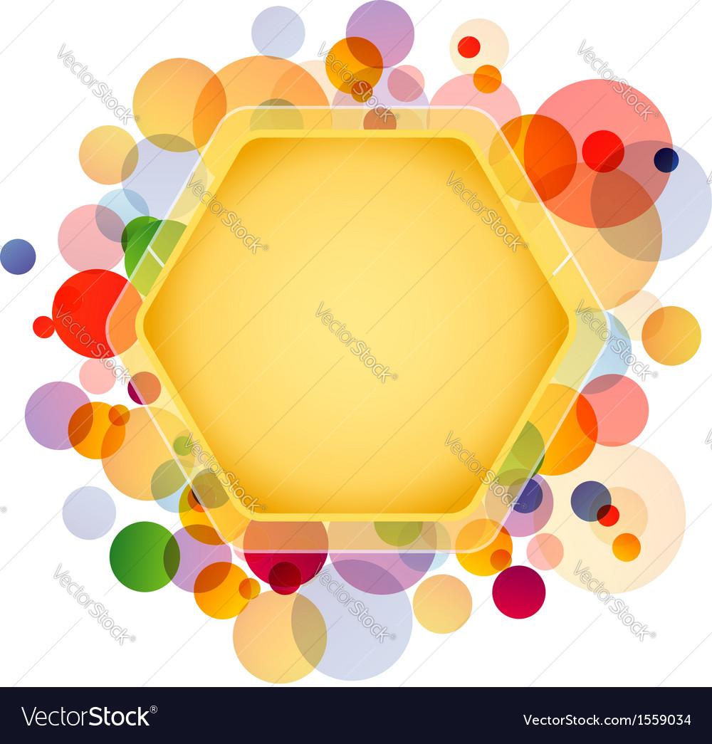 Honeycomb element vector | Price: 1 Credit (USD $1)