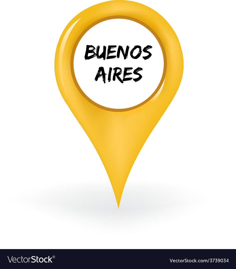 Location buenos aires vector | Price: 1 Credit (USD $1)