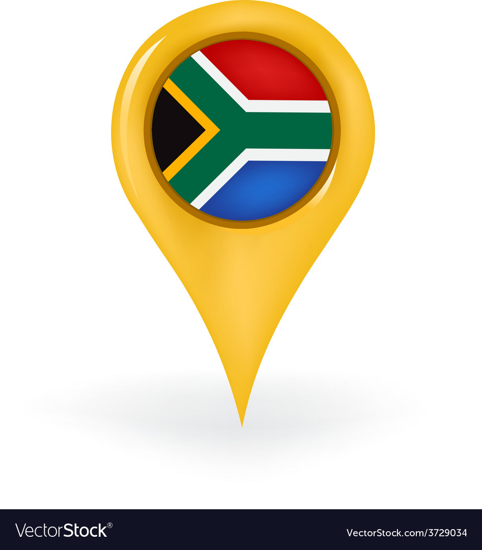 Location south africa vector | Price: 1 Credit (USD $1)