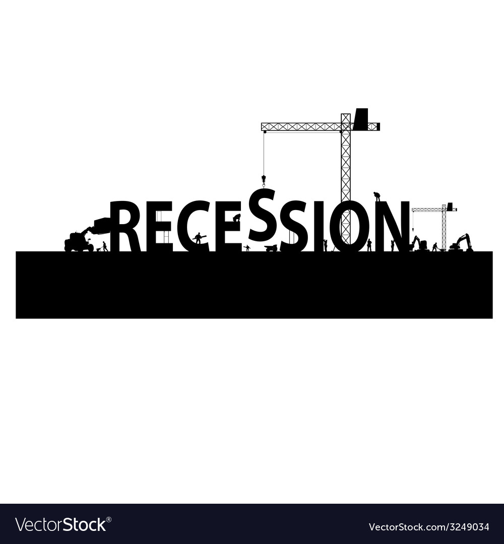 Recession with a workforce vector | Price: 1 Credit (USD $1)