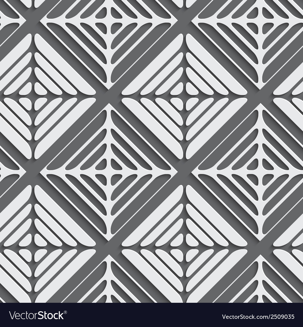 Abstract gray seamless background cut out of paper vector | Price: 1 Credit (USD $1)