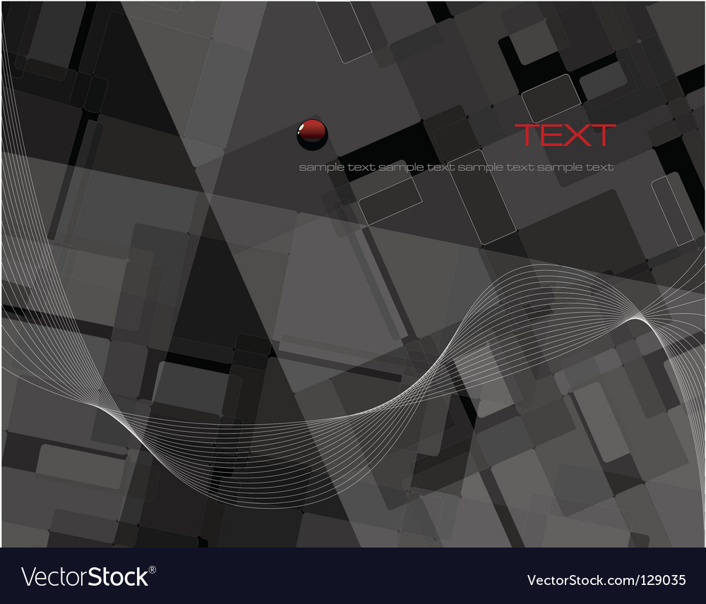 Black abstract composition vector | Price: 1 Credit (USD $1)