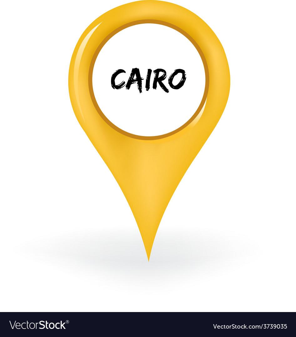 Location cairo vector | Price: 1 Credit (USD $1)