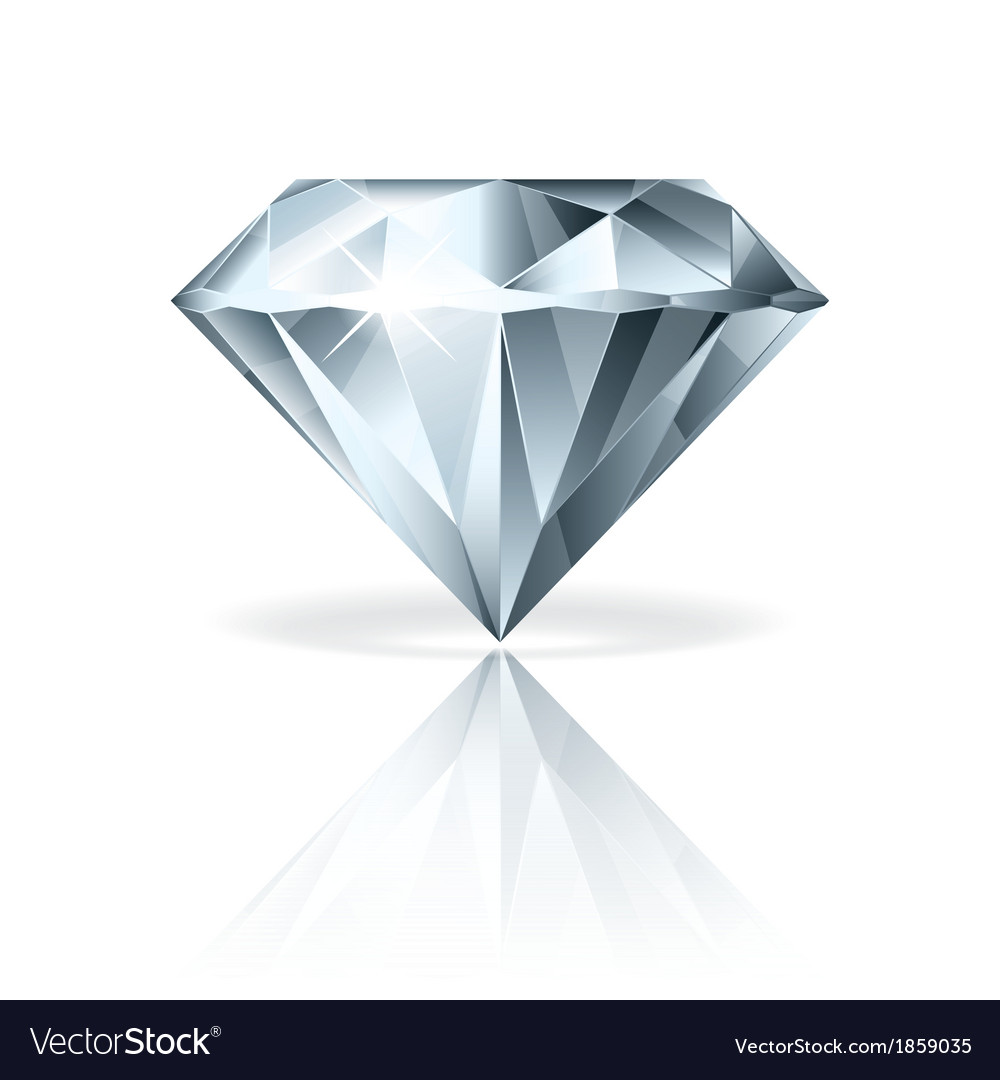 Object diamond vector