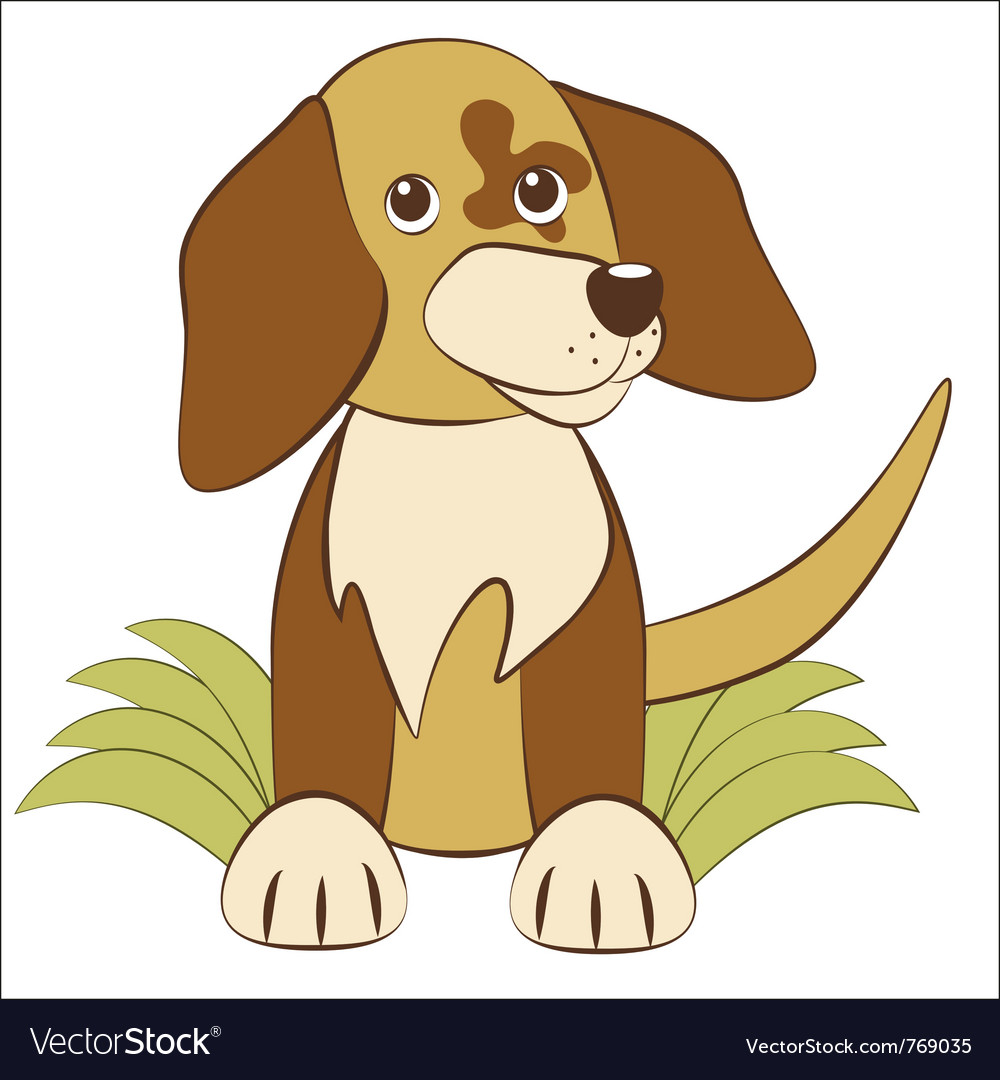 Puppy vector | Price: 1 Credit (USD $1)