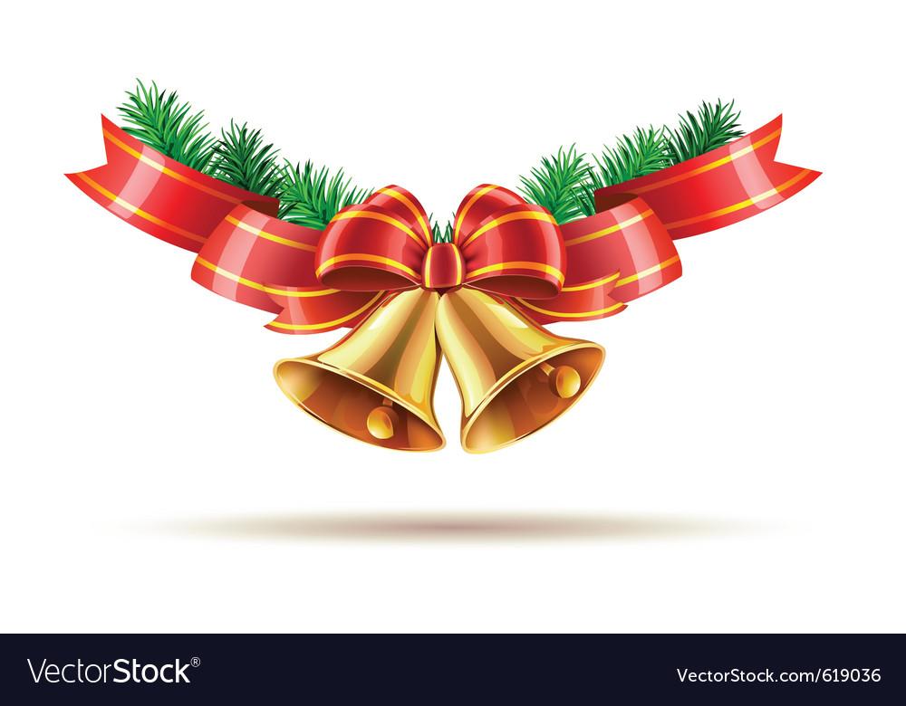 Christmas bells vector | Price: 3 Credit (USD $3)