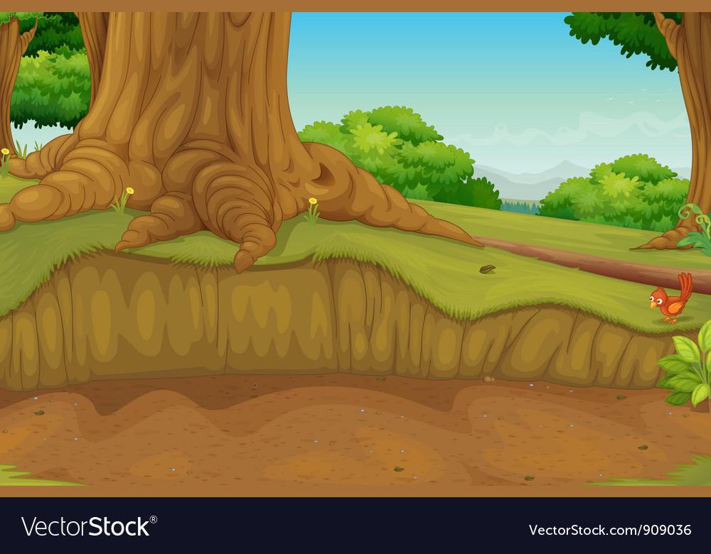 Dirt path vector | Price: 3 Credit (USD $3)