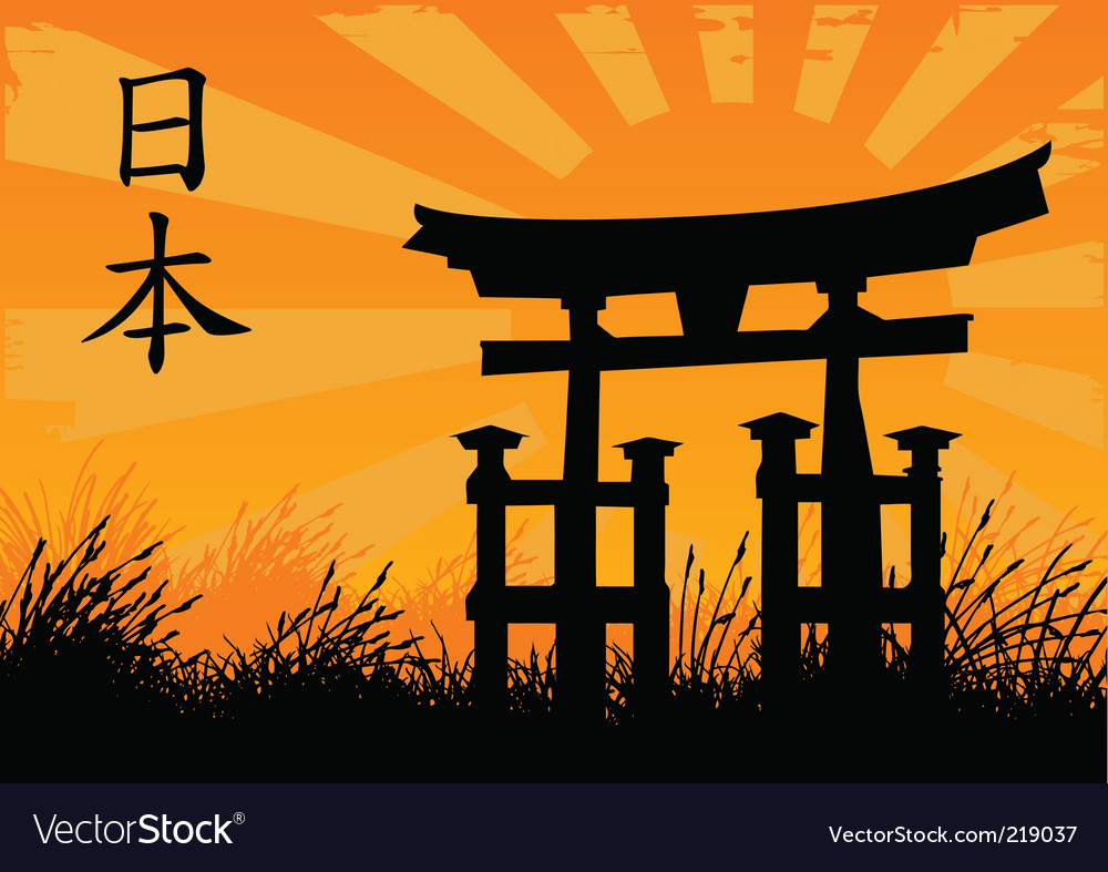 Japanese style vector | Price: 1 Credit (USD $1)