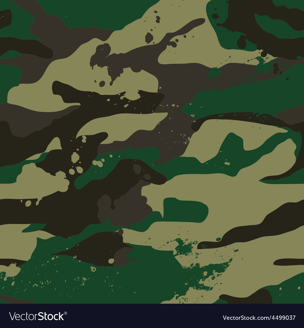 Khaki jungle camouflage pattern vector | Price: 1 Credit (USD $1)