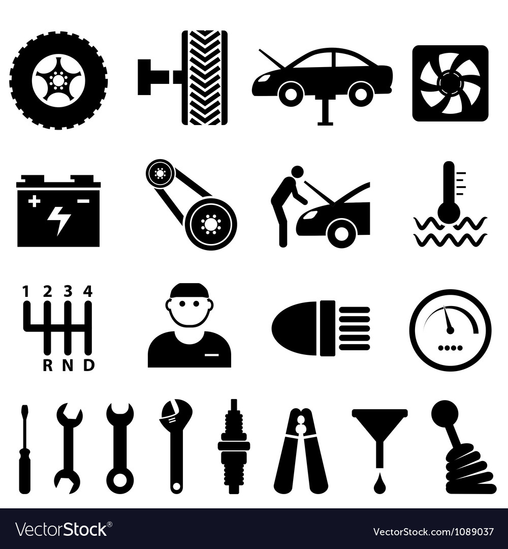 Mechanic workshop vector | Price: 1 Credit (USD $1)