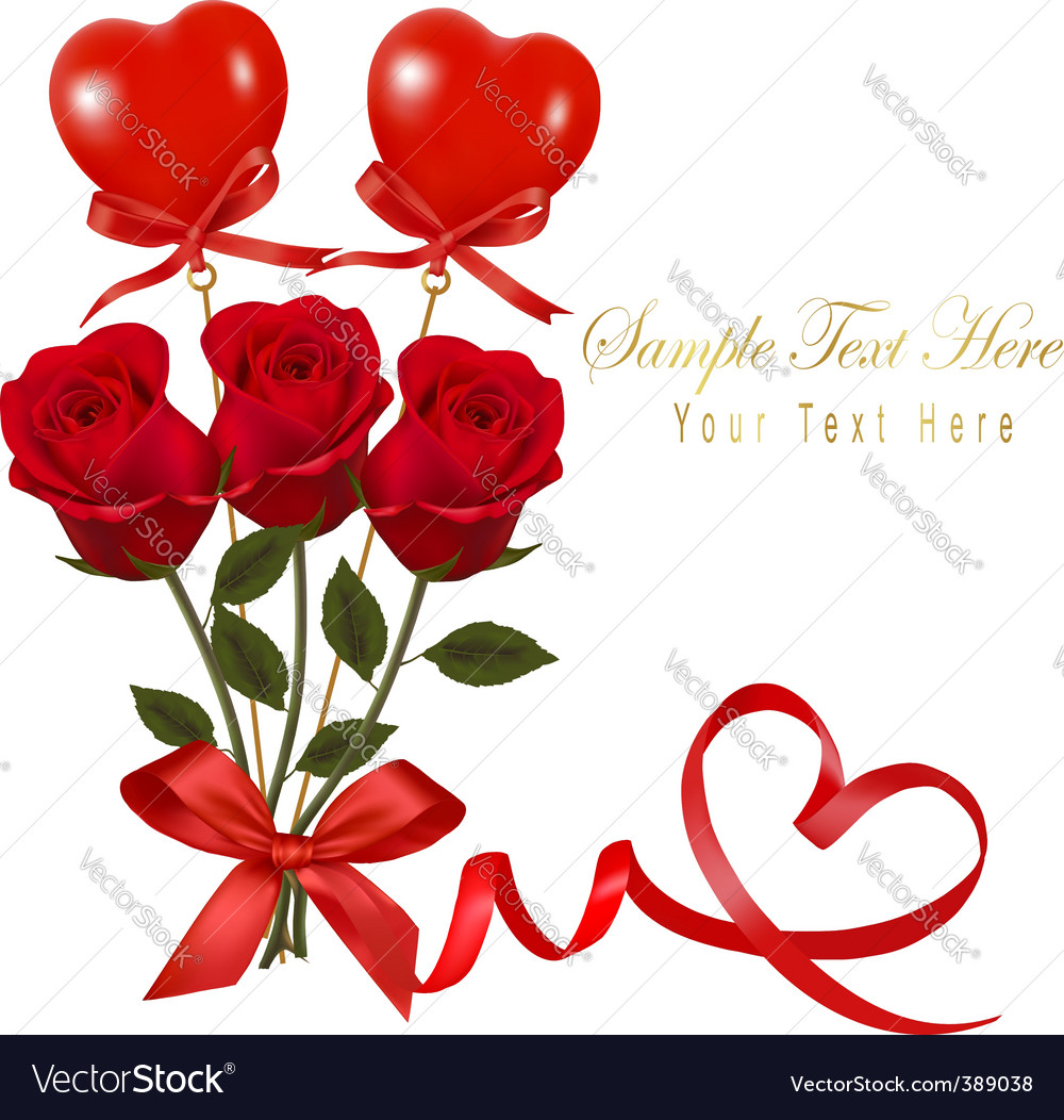 Card with valentine background2 copy vector | Price: 1 Credit (USD $1)