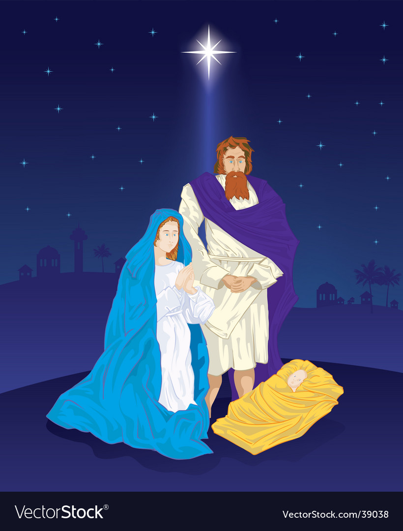 Nativity vector | Price: 5 Credit (USD $5)