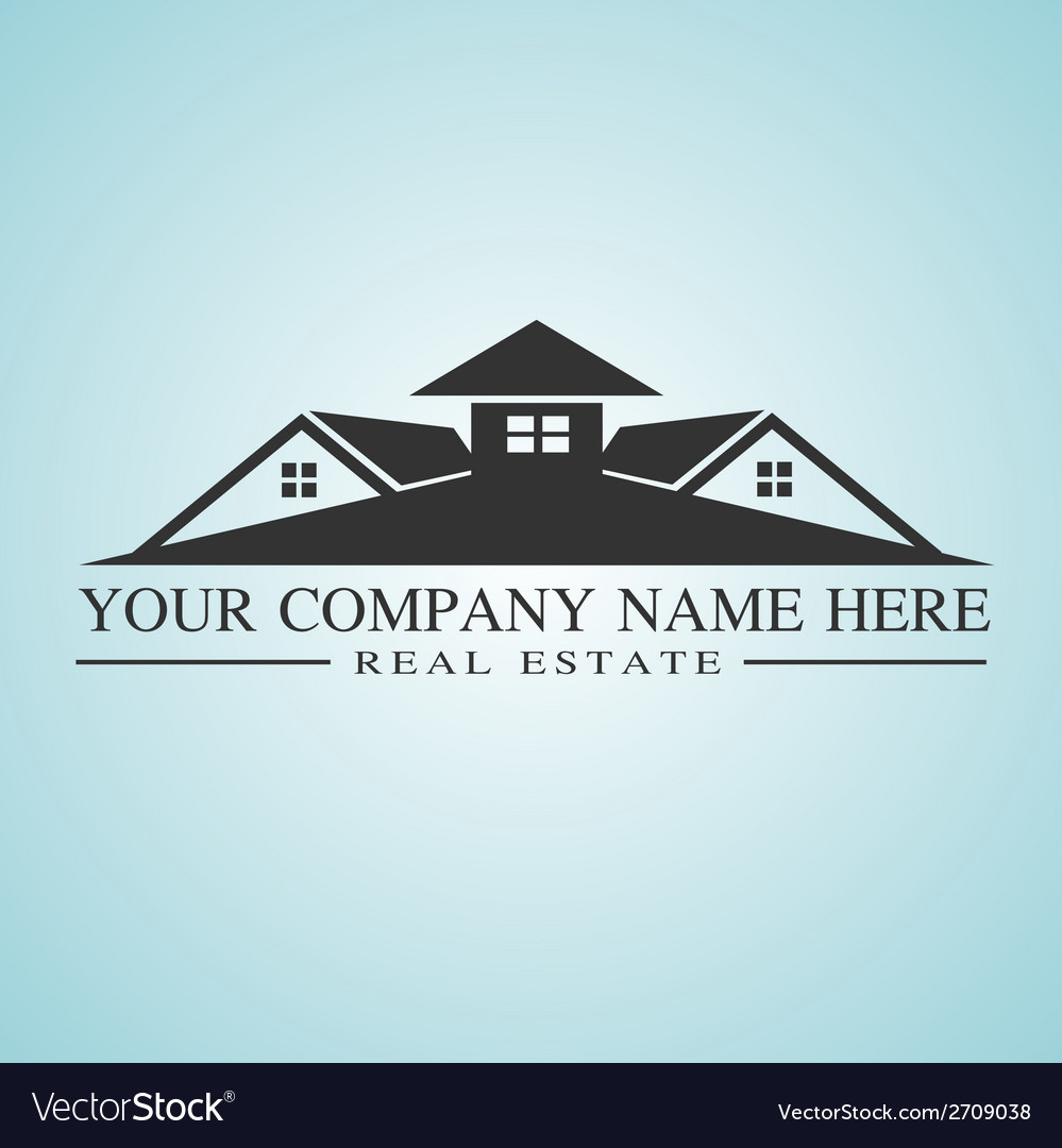 Real estate logo concept vector | Price: 1 Credit (USD $1)