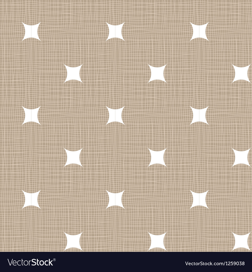 Seamless retro pattern linen eps10 vintage vector | Price: 1 Credit (USD $1)