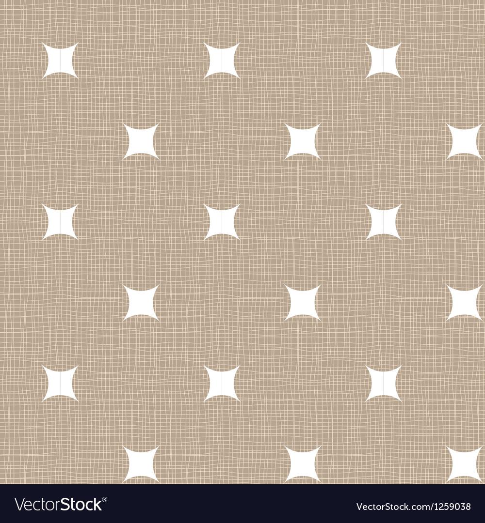Seamless retro pattern linen eps10 vintage vector | Price: 1 Credit (USD $1)