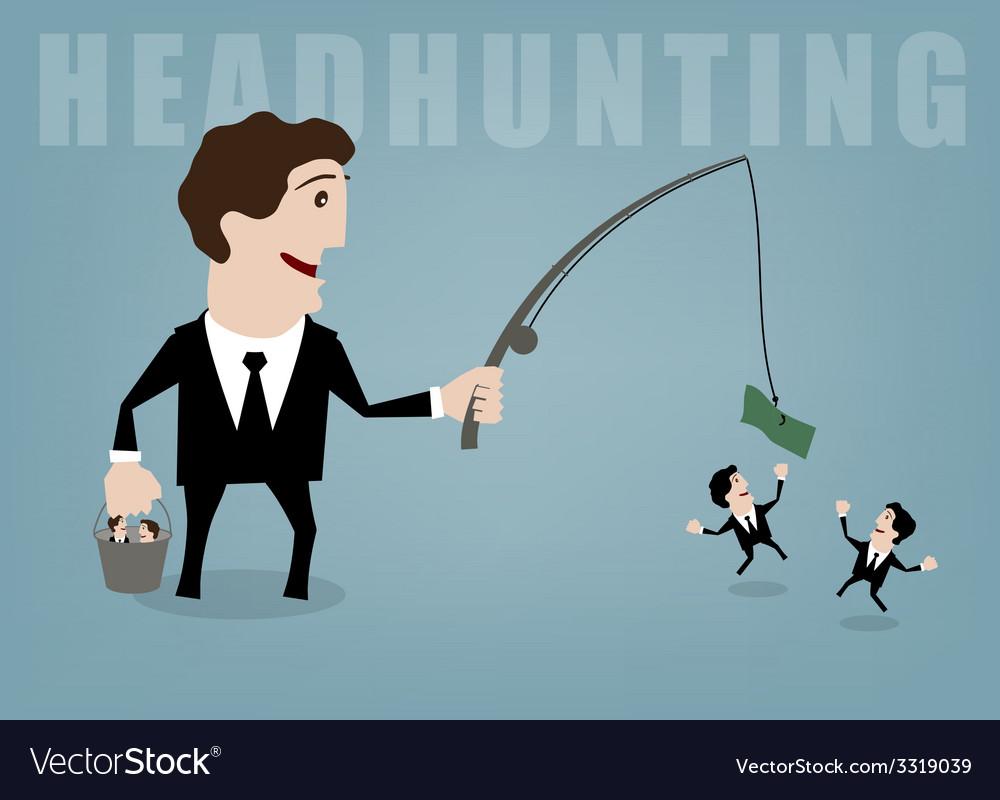 Headhunting vector | Price: 1 Credit (USD $1)