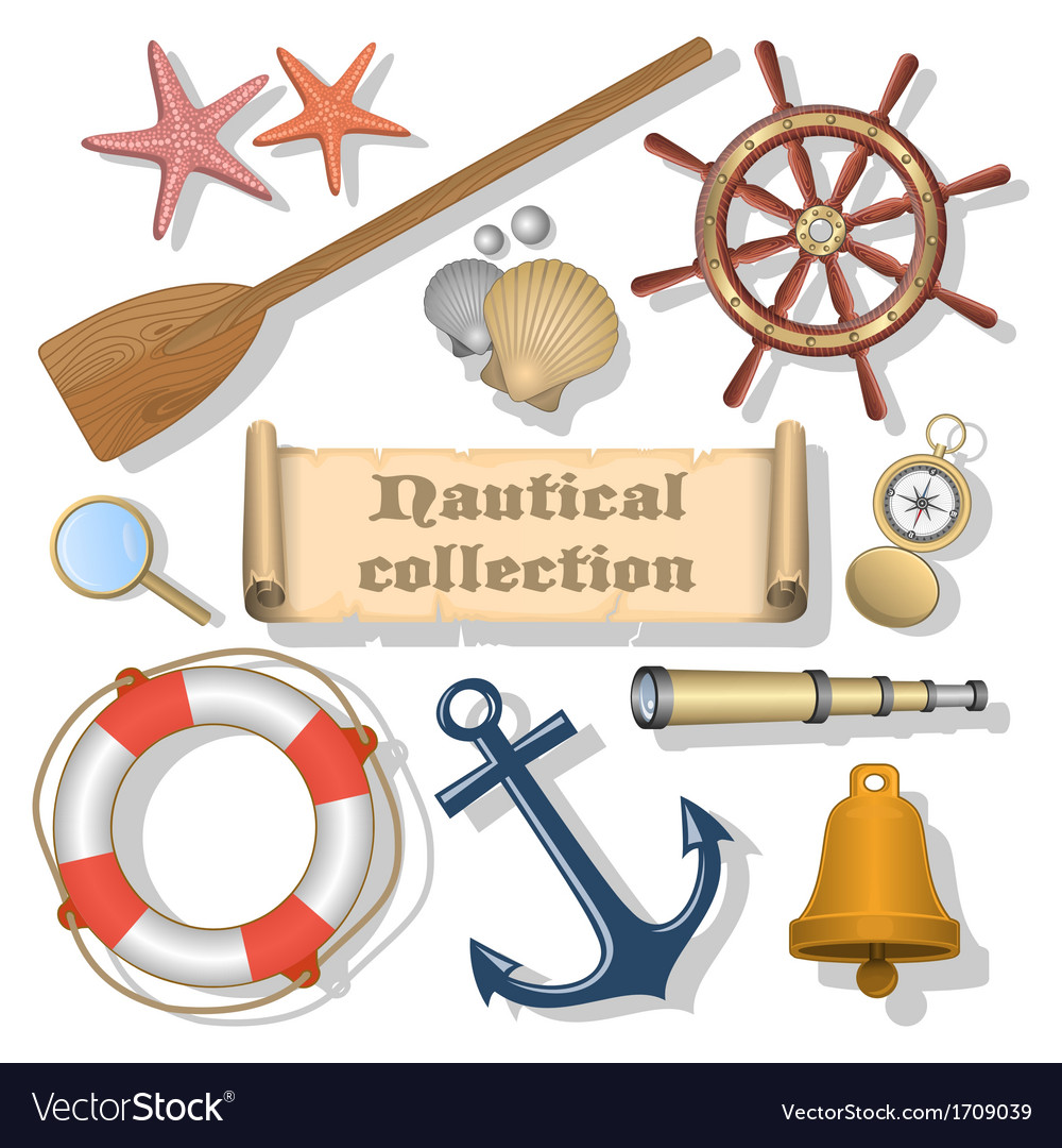 Nautical collection 3 vector | Price: 1 Credit (USD $1)