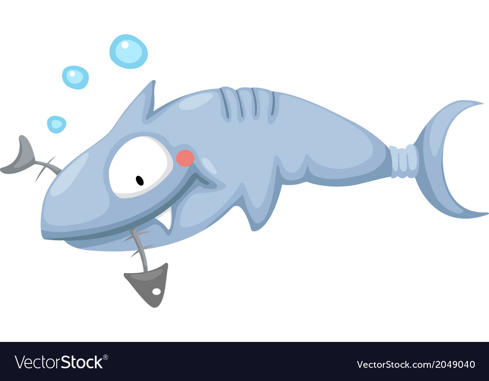 A shark vector | Price: 1 Credit (USD $1)