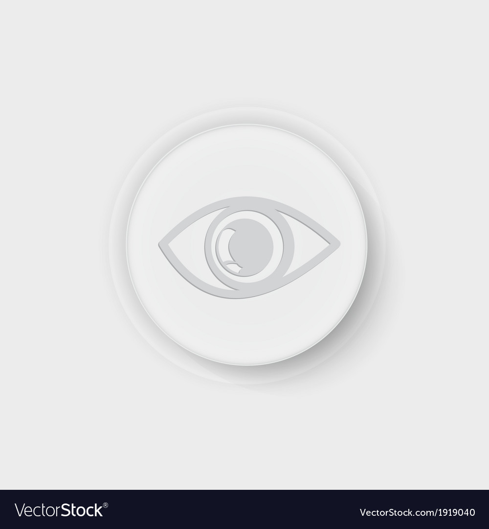 Button eye vector | Price: 1 Credit (USD $1)