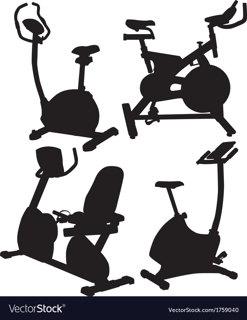 Fitness bike vector | Price: 1 Credit (USD $1)