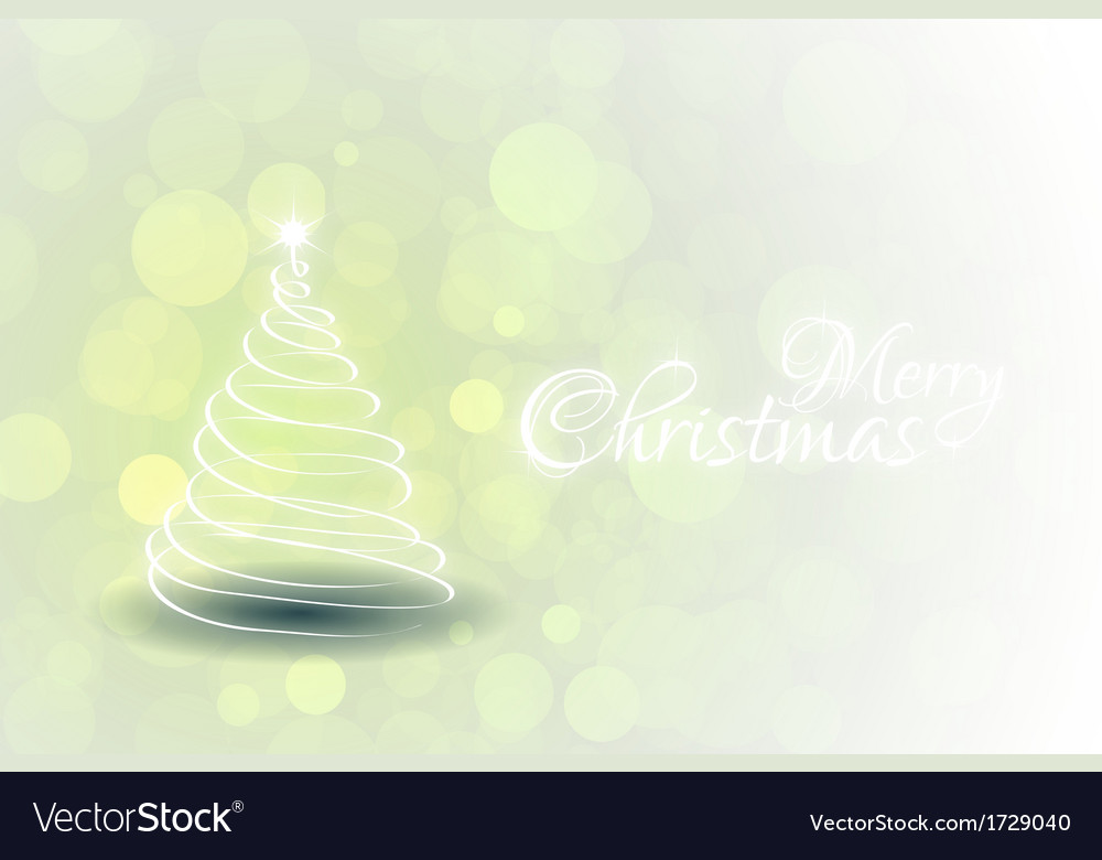 Green christmas card vector | Price: 1 Credit (USD $1)