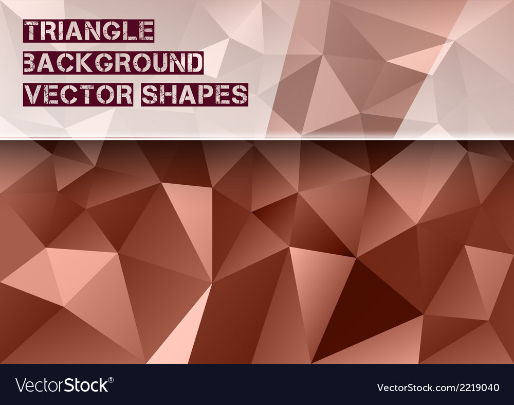 Red triangles vector | Price: 1 Credit (USD $1)