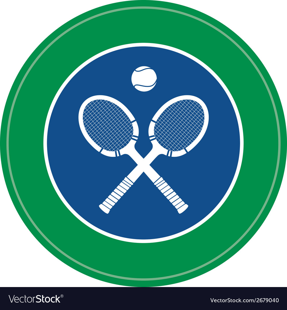 Tennis club vector | Price: 1 Credit (USD $1)