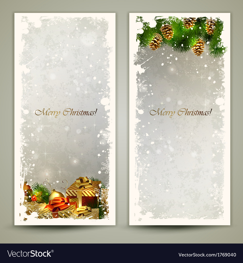 Two greeting cards vector | Price: 1 Credit (USD $1)