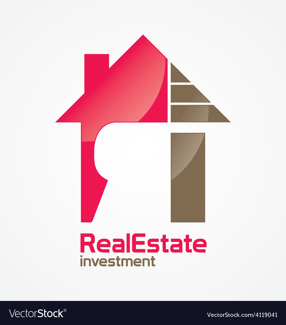 Realestate investment logo vector | Price: 1 Credit (USD $1)