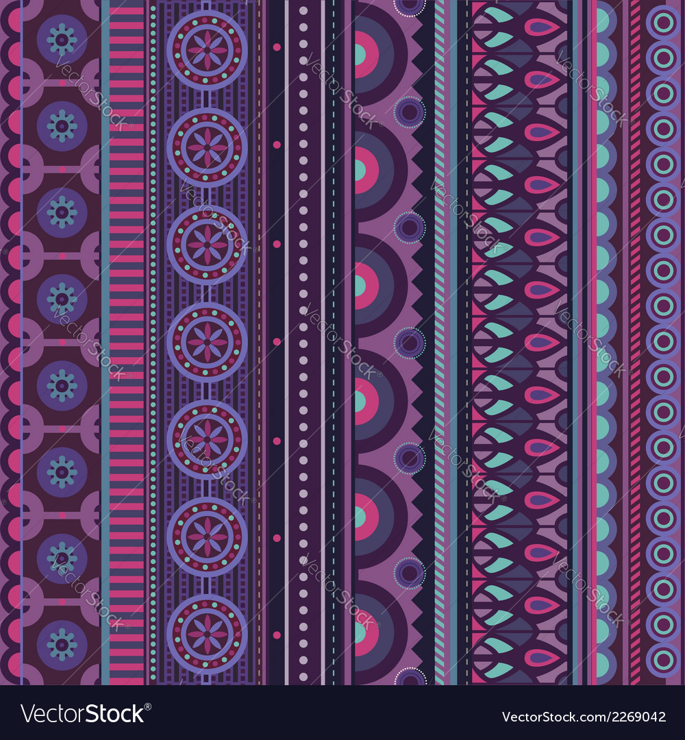 Abstract geometric strip pattern vector | Price: 1 Credit (USD $1)
