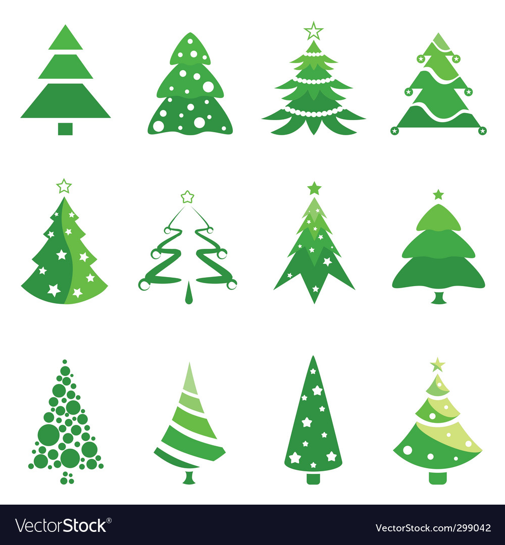 Pine tree for christmas vector | Price: 1 Credit (USD $1)