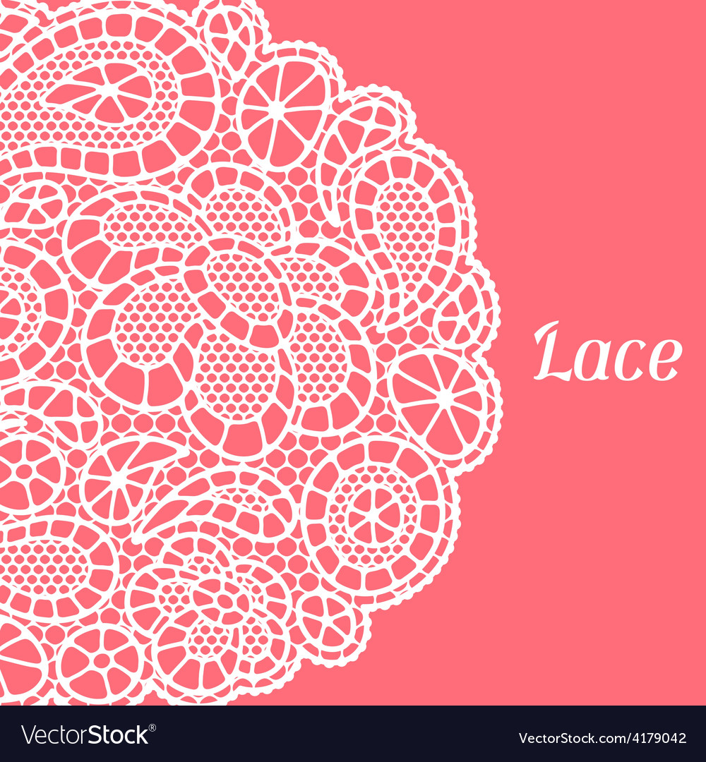 Vintage fashion lace background with abstract vector | Price: 1 Credit (USD $1)