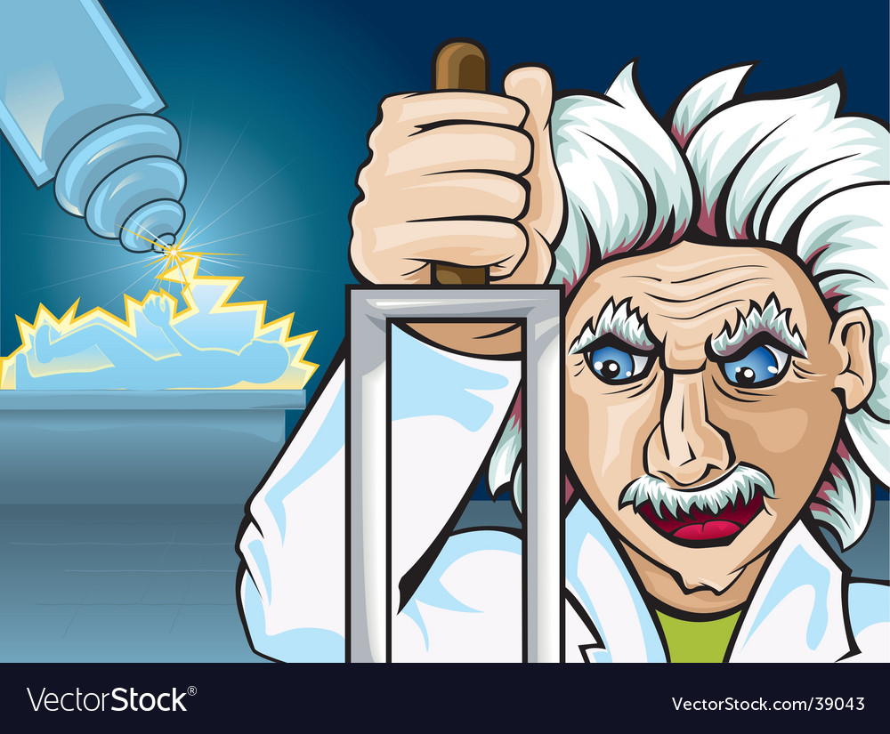 Mad-science vector | Price: 3 Credit (USD $3)
