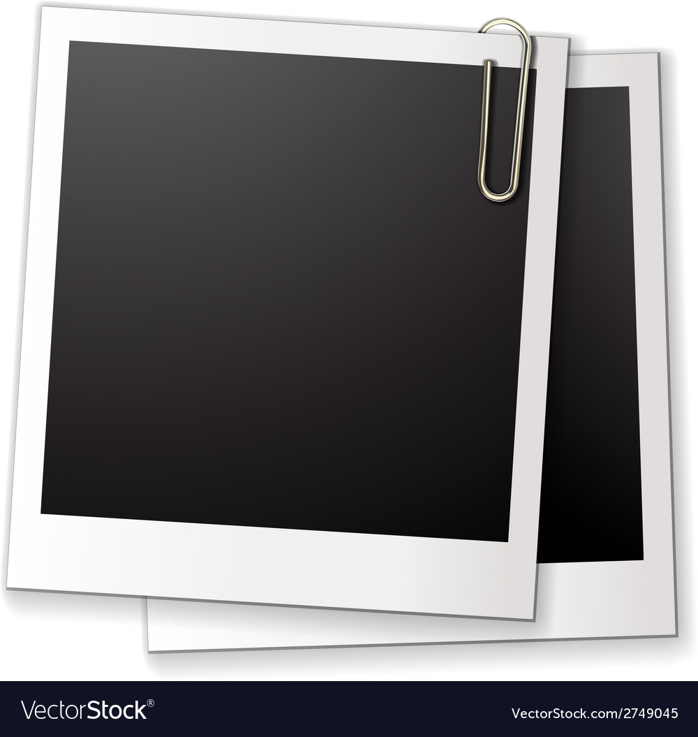 Blank photo frames vector | Price: 1 Credit (USD $1)
