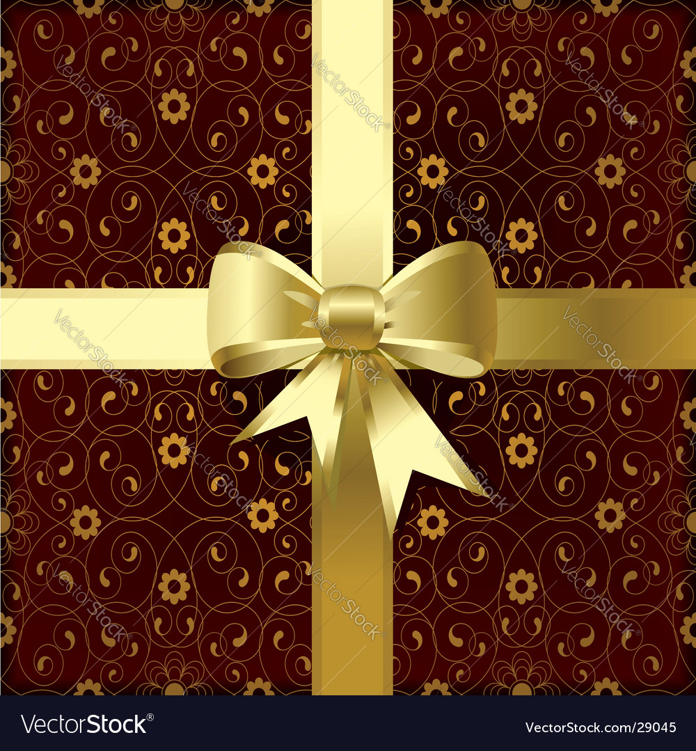 Christmas bow vector   Price: 1 Credit (USD $1)