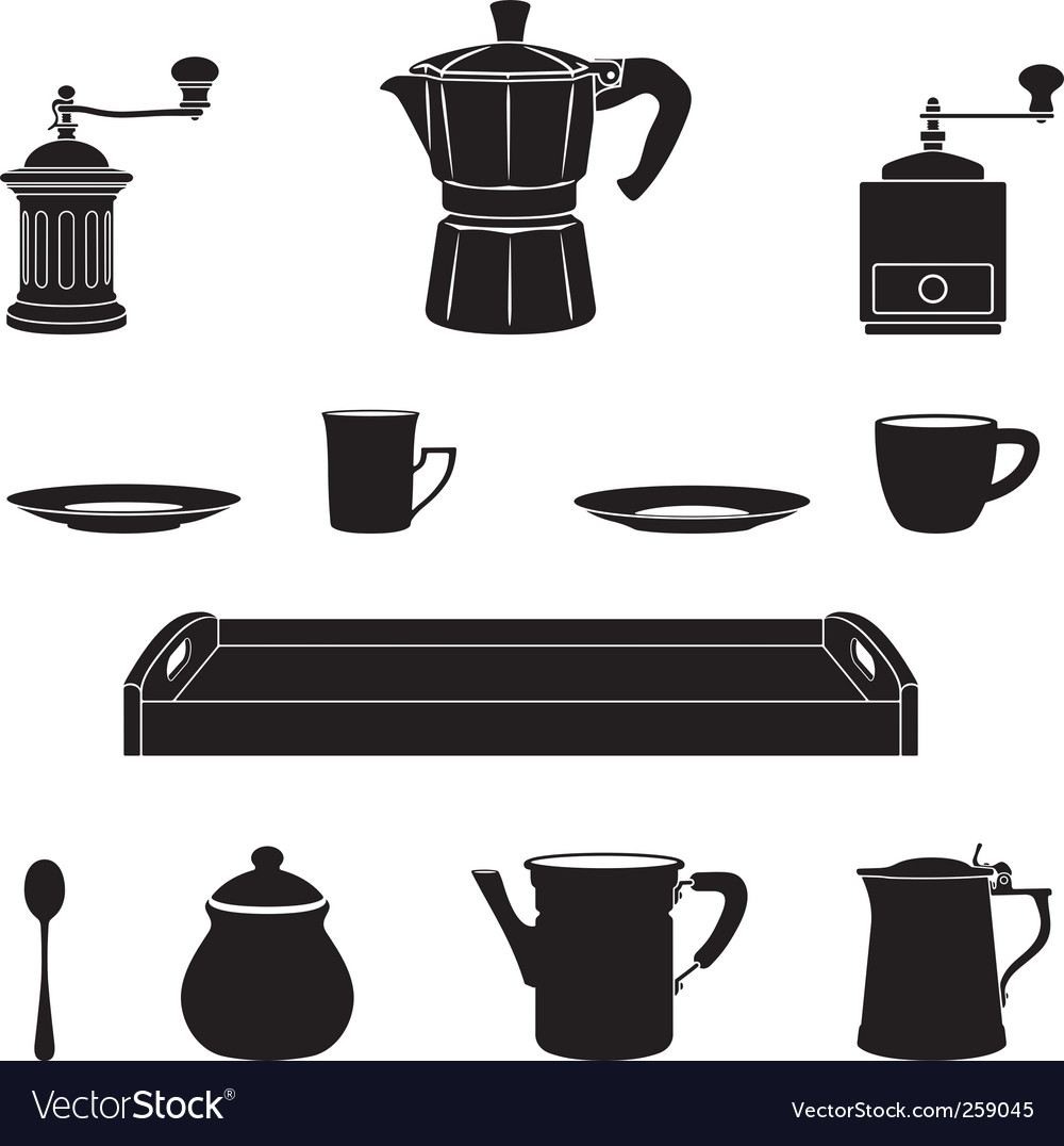 Italian coffee vector | Price: 1 Credit (USD $1)