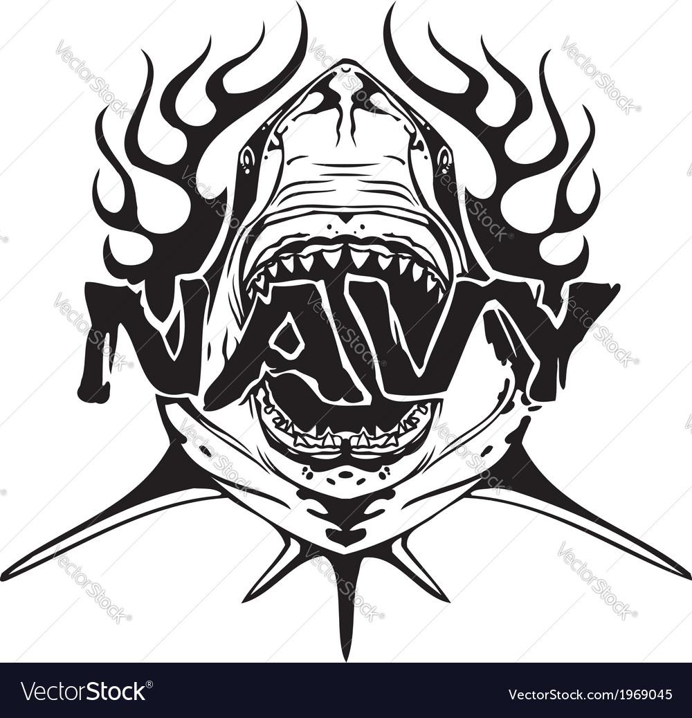 Navy military design - vector | Price: 1 Credit (USD $1)