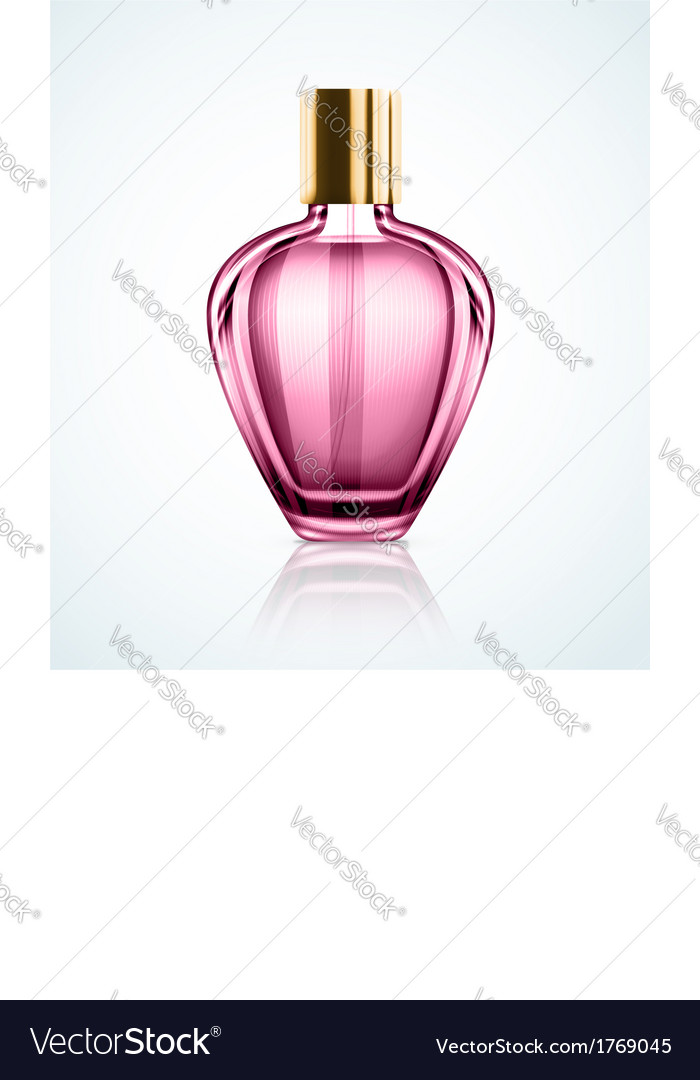 Perfume bottle vector | Price: 1 Credit (USD $1)
