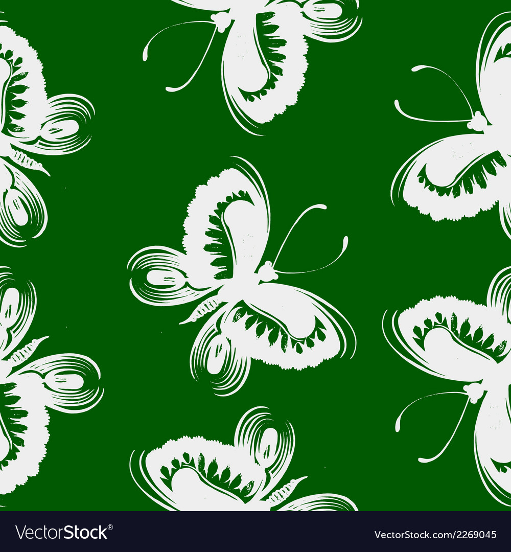 Seamless pattern butterfly vector   Price: 1 Credit (USD $1)
