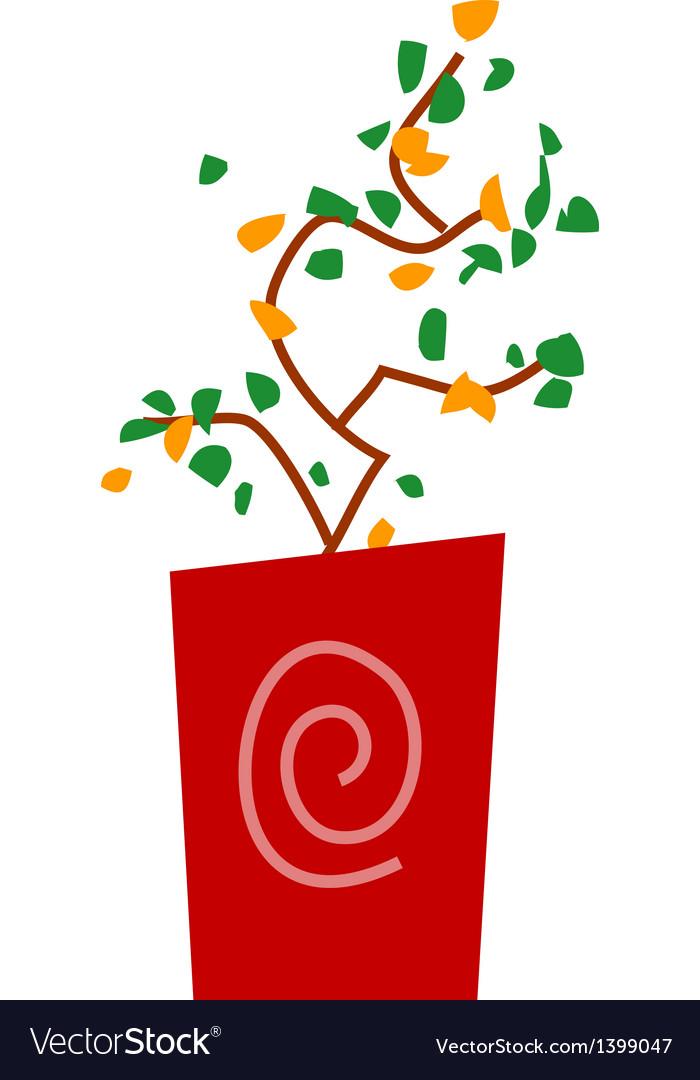 A shrub vector | Price: 1 Credit (USD $1)