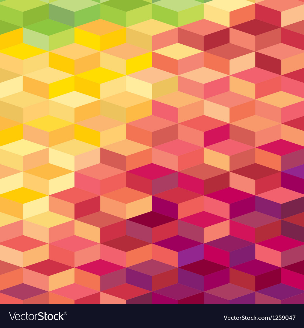 Colourful rhombic background for prints web vector | Price: 1 Credit (USD $1)
