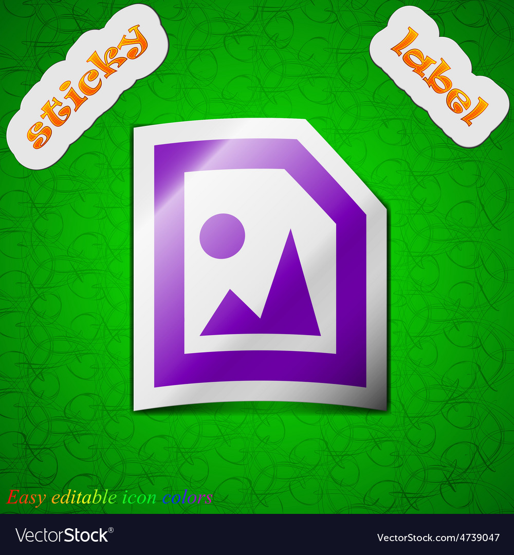 File jpg icon sign symbol chic colored sticky vector   Price: 1 Credit (USD $1)