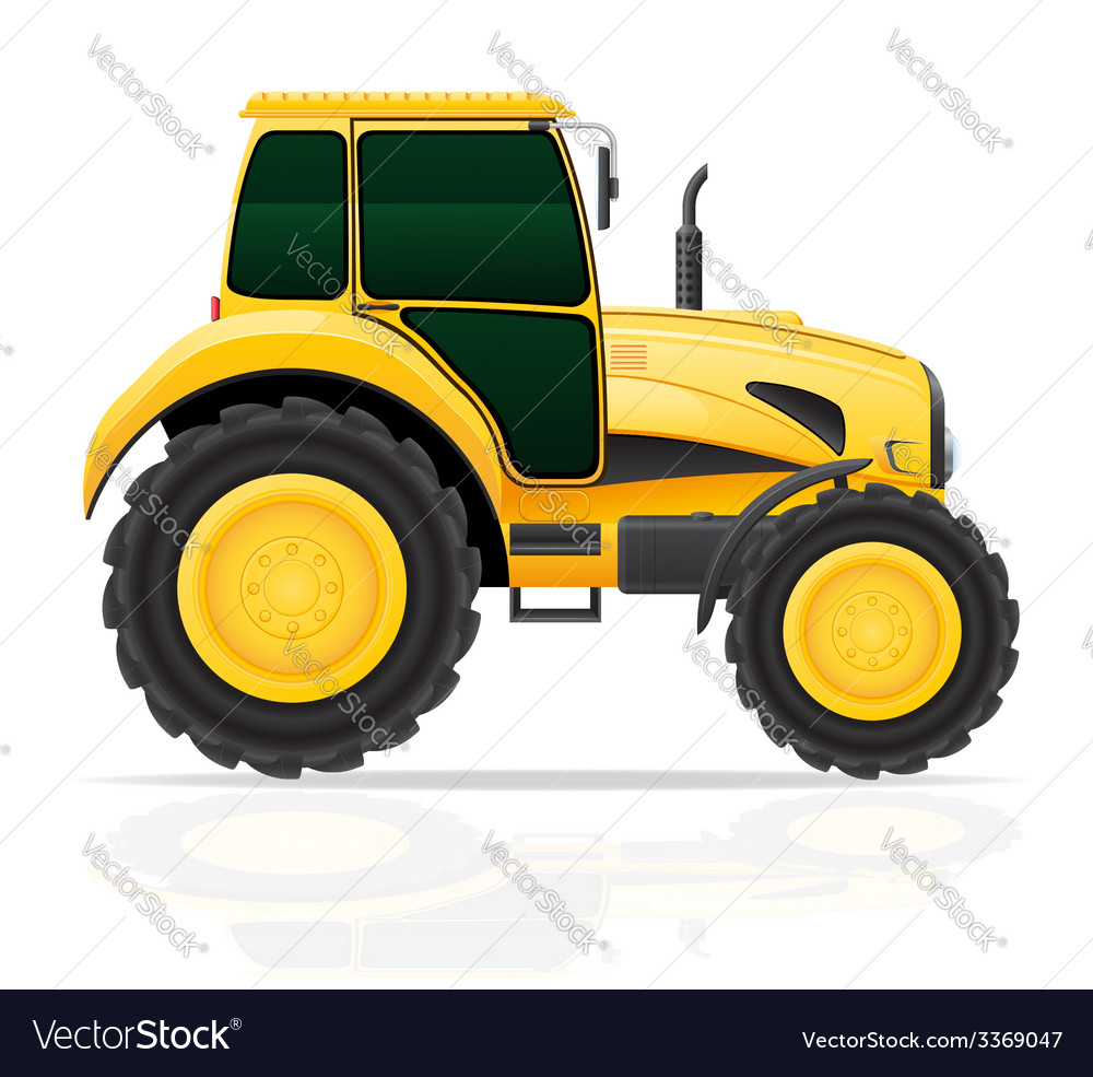 Tractor 01 vector | Price: 3 Credit (USD $3)