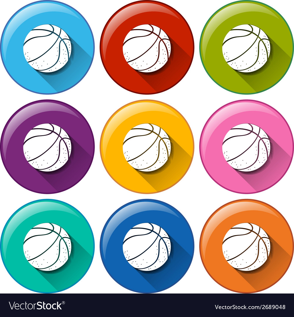 Ball icons vector | Price: 1 Credit (USD $1)