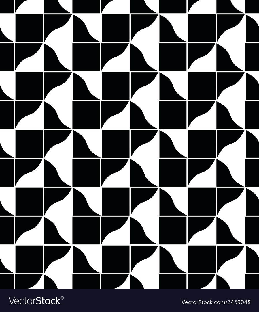 Geometric tiles seamless pattern background vector | Price: 1 Credit (USD $1)