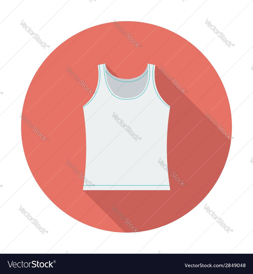 Singlet single icon vector | Price: 1 Credit (USD $1)