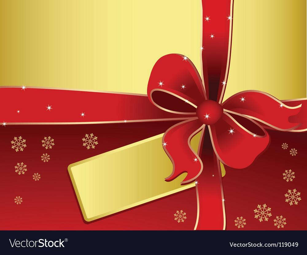 Xmas gift vector | Price: 1 Credit (USD $1)
