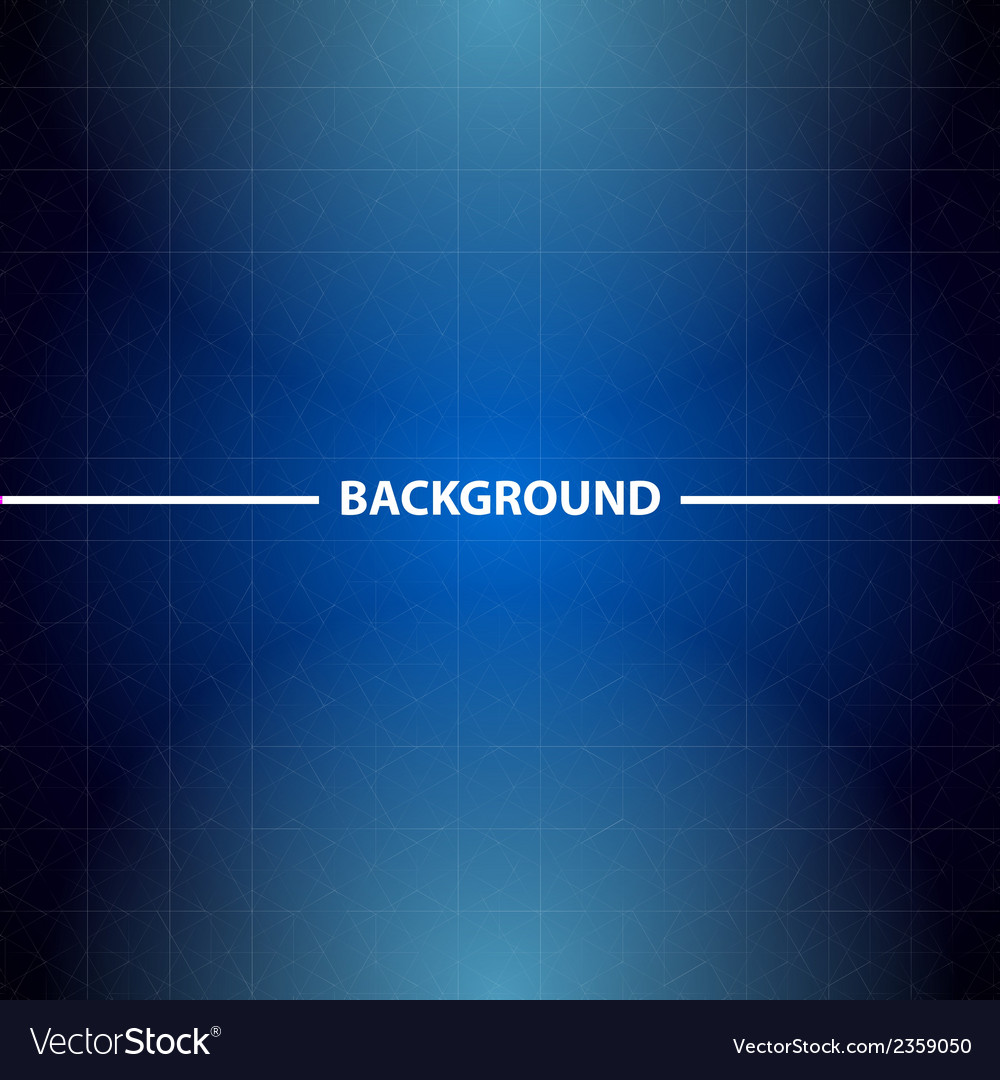 Abstract blue business background with triangles vector | Price: 1 Credit (USD $1)