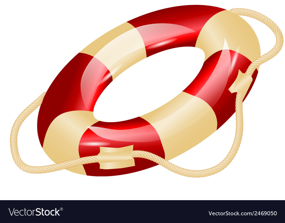 Life ring vector | Price: 1 Credit (USD $1)